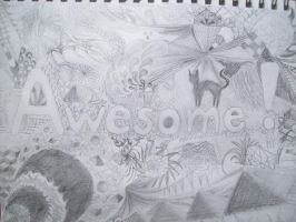 """""""Awesome"""" by KLN-loves-fish"""