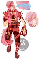 Adoptable 13 Cat Pirate Dude... Thing [CLOSED] by MHWAdopt