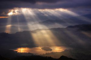 Lake District - Rydal Sky by scotto
