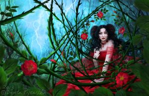 Wild Rose by Trisste