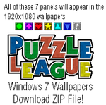 Puzzle League Windows 7 1920x1080 Wallpapers by TheWolfBunny