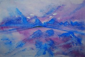 Misty Mountains by DebIPass