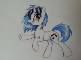 Vinyl Scratch by Creeate97