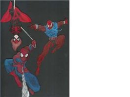 Spiderman montogue by Shipht