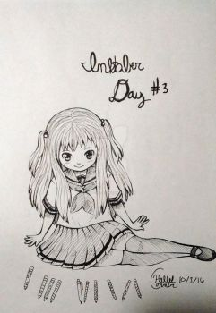 Inkober Day #3 (Penny's Pencil Collection) by LightGirl-01