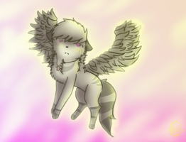 An Angel In The Clouds by dovepaw3000