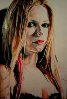 Avril Lavigne Colour by reecekikluvloot