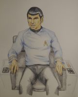 First Officer Spock in Command [Gamers Triskelion] by AloiInTheSky
