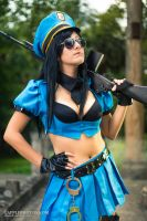 Officer Caitlyn by milk-dr0p