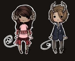 Demon Adopts .CLOSED. by Enki-Ri