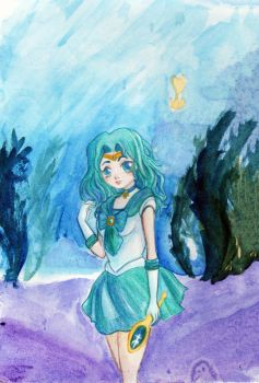 Sailor Neptune by LostElegy