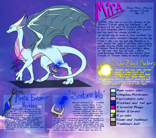Mira reference sheet by WingedWilly