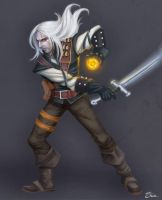 Geralt from Riv-The Witcher by Shiva-Anarion