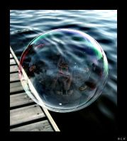 Blow A Bubble by radicalway