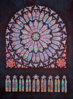 Cathedral Rose Window by starshield