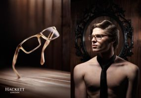 Eyewear - Double Page Ad by tiffchin