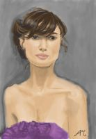 Portrait: Keira Knightley by WafflesOnToast