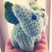 Little Bulbasaur by deathskullz246