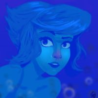 Blue as Lapis by Spencer-Bowen
