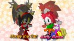 Honey and Amy - Wallpaper (request) by Knuxy7789