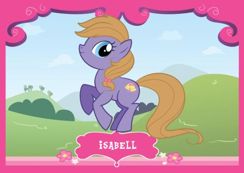 MLP Poster - Isabell by gen8