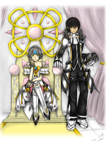 Elsword: Code Empress and Blade Master by GaleSpider