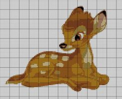 Bambi Pattern by MaryJoMcCormic