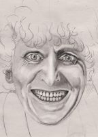 4th Doctor Tom Baker 2 by rhizin