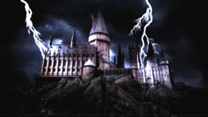 A Storm over Hogwarts by Dave-Daring