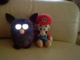 evil furby and mario by yoshifan12