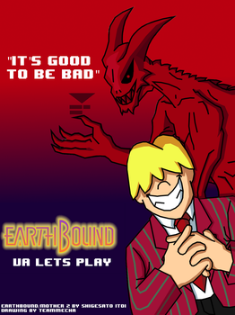 VA lets Play Earthbound promo poster The Villians by teammecha