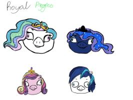 Piggies: Royal by scootie-wootie