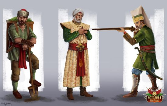 Character Concepts 2 by bakarov