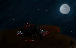 Creature of the Night by Skitcy