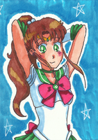 Sailor Jupiter ATC by Angie-Laura