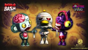 BHB Team Fluf Undead Wallpaper by SpicyHorseOfficial