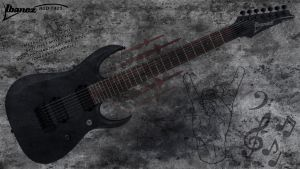IBANEZ RGD 7421 E-Guitar Wallpaper 2 by JaxxTraxx