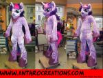 TWS Unicorn Female Cosplay Fursuit Pony by AtalontheDeer