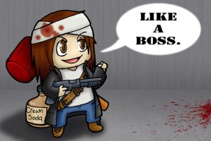 Helloween4545- Like a Boss by sweettartslover
