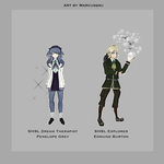 SHSL OCs Coloured (8/8) by Marcusqwj