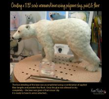 Creating a 1:12 scale armoured bear #15 by Pajutee