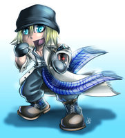 FF13: Chibi Snow by DarkLitria
