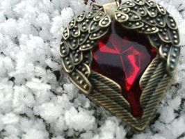 Gothic Necklace STOCK by MyForeverAfter
