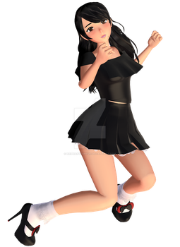 [MMD - SelfModel] Preview - Casual 02 by EriPhantomhive