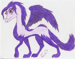 TLOS OC: Juilet the Dragoness by PeaceGrrl