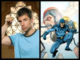 JLA Casting - Blue Beetle ll (Ted Kord) by Doc0316