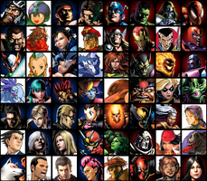 """MvC3: 56 """"What if..."""" game by FrankWatcher"""