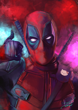Deadpool by Krazmuth