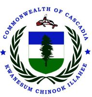 Coat Of Arms Of Cascadia by shakineyeworks