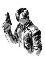 Leon S Kennedy RE6 by E-Mann